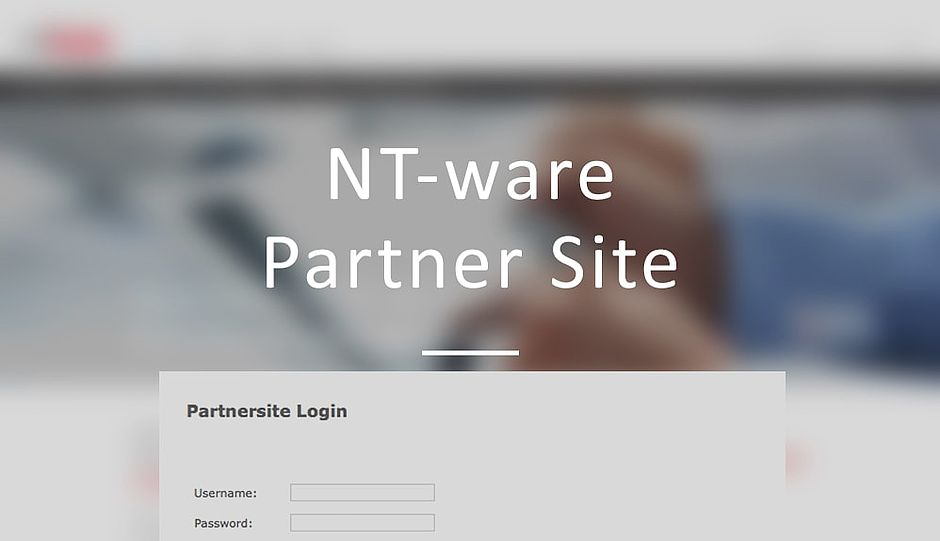 Partner Site, NT-ware, Help, Downloads